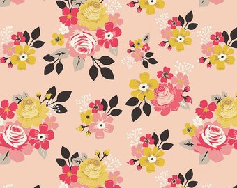 1/2 yd Vintage Daydream Main Floral by Design By Dani for Riley Blake Fabrics C5560 Pink