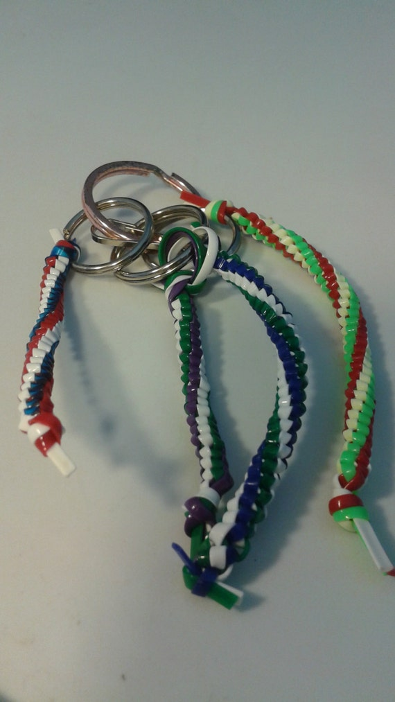 Round Braided Key Chain - 3 color