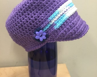 Girls newsboy hats