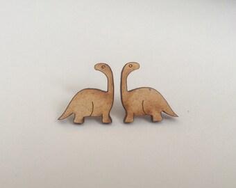 Brontosaurus Stud Earrings