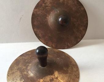 Vintage Kindergarten Band Cymbals