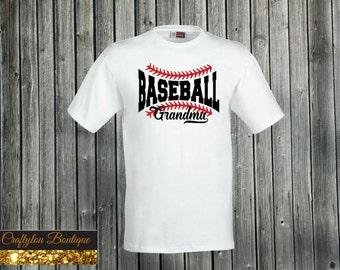 Baseball Grandma Shirt
