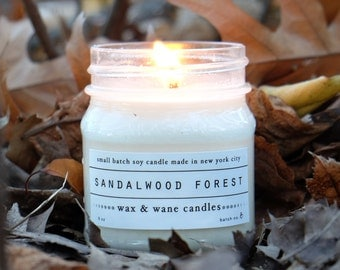Sandalwood Forest Soy Candle