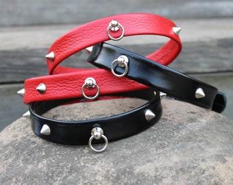 Leather BDSM Collar