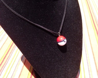 Pokeball Necklace or Charm
