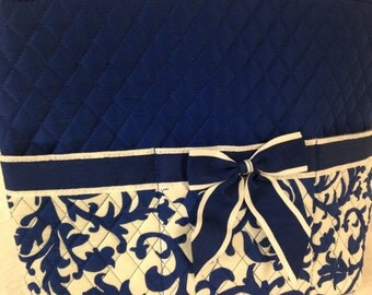 Damask Quilted Diaper Bag