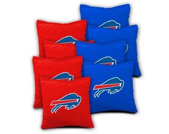 BUFFALO BILLS Set of 8 ACA Regulation Cornhole Bags Bean Bag Toss