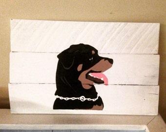 Rottweiler wall hanging