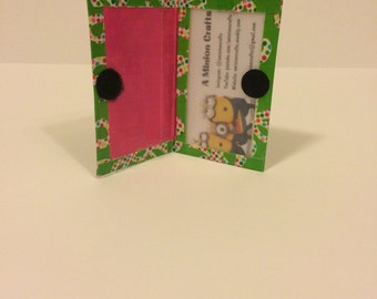 Holiday Bows Duck Tape Gift Card Holder