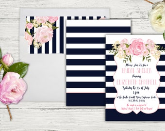 kate spade wedding invitations kate spade bridal shower invitations etsy 5291