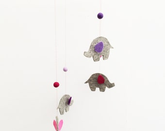 Elephant Baby Mobile - Other Colour Choices Available