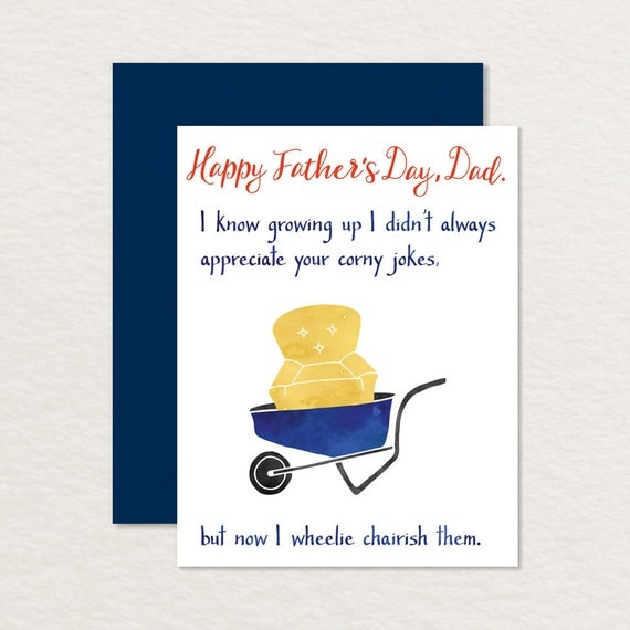 This is a photo of Rare Funny Printable Father's Day Cards