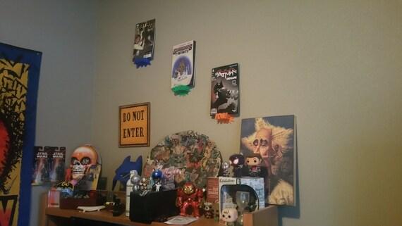 comic book display shelf pow crash kaboom 3d by recordracks. Black Bedroom Furniture Sets. Home Design Ideas