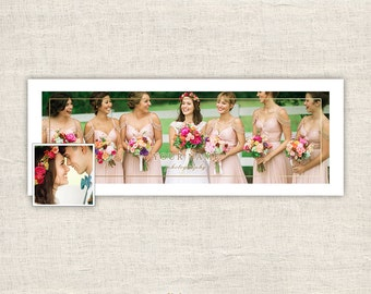 Wedding Photography Facebook Timeline Cover - Facebook Timeline Cover Template Photograpers - Banner Photoshop Template - INSTANT DOWNLOAD