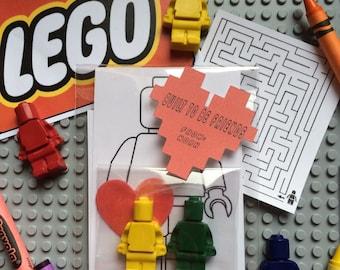 Valentine Lego Crayon Color Pack