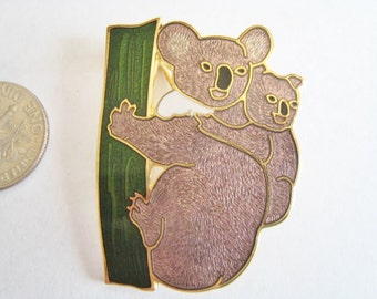 Enamel Koala Bear Pin