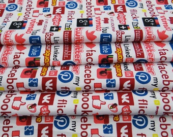 """58"""" Wide Cotton Fabric Text Printed Craft Fabric Dressmaking Material Fabric For Sewing Apparel Indian Pure Cotton Fabric By 1 Yard ZBC7786C"""
