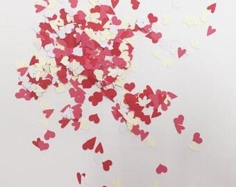Hearts confetti, Wedding Party, Bridal shower, Babyshower, Wedding Decoration, set of 120