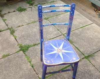 OOAK wizard's chair - made to order