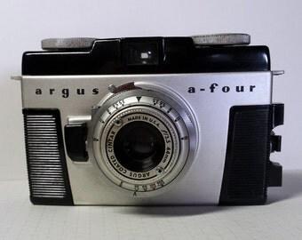 Vintage Argus A-Four 35mm Viewfinder Camera 1950s