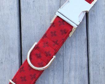 "The ""Scarlet Cross""- Collar"