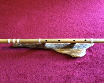 End blown bamboo flute in C# meditation tuning - Assam bamboo