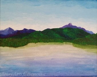Mount Chocorua, giclee art print