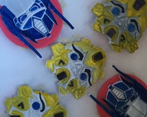 Transformers inspired cupcake toppers
