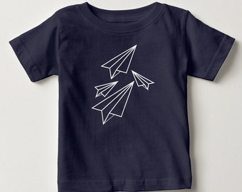 Paper Plane Origami Cute Baby T-Shirt