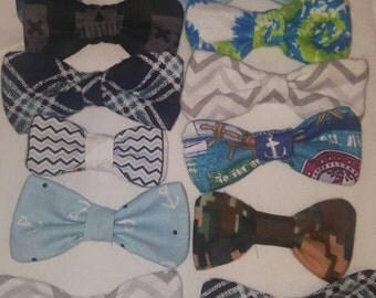 Extra Bow Ties for interchangeable options!