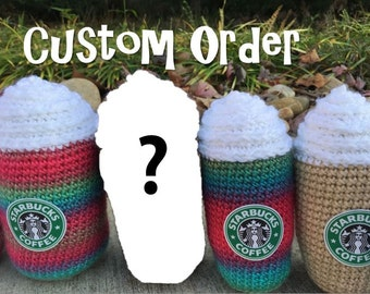 Amigurumi Starbucks : Starbucks Amigurumi Latte Frappaccino Plush Gift for by ...