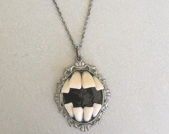 Toothy Void Necklace