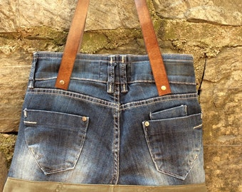 BAG RECYCLED JEANS