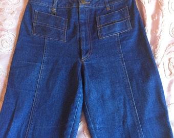 """SOLD-Judi Rosen Classic High Waisted Jeans 28"""" Waist Size Medium"""