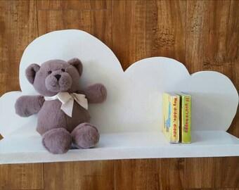 Cloud Shelf, Nusery Shelf, Nursery Decor