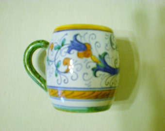 Deruka Italian Pottery Cup