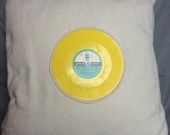 Childrens Retro Record Pillow - 45, Golden Records