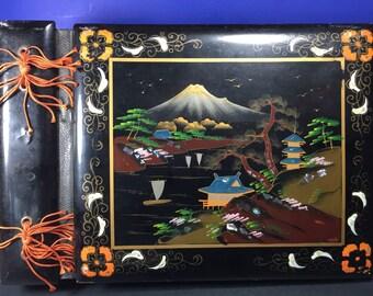 Japanese Inlay Musical Scrapbook