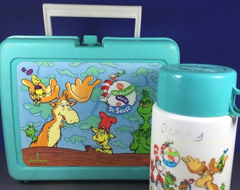 Dr Seuss Lunch Box with Thermos