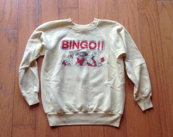 80s Bingo sweatshirt
