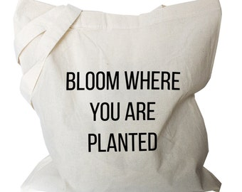 Gardener Gifts -  Gardeners tote Bag -  Canvas Totes - Canvas Tote Bags (b511)