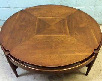 Vintage Walnut Coffee Table