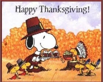 "2"" x 3"" Magnet Happy Thanksgiving Snoopy Decoration Fridge MAGNET"