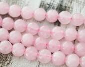 8mm Rose Quartz A Quality Gemstones Pink Stone Beads Mala Beads