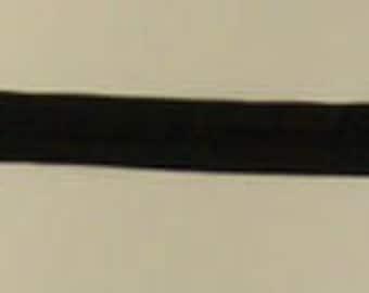 """3 Nylon Zippers BLACK 7"""""""