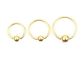 Stainless Steel Gold Earring