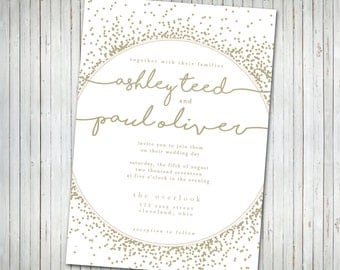 Wedding Invitation Bridal Shower Invitation