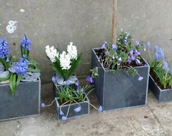 Slate planter - 'Trough' 100mm * 200 mm