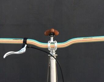 wooden riser bicycle handlebar
