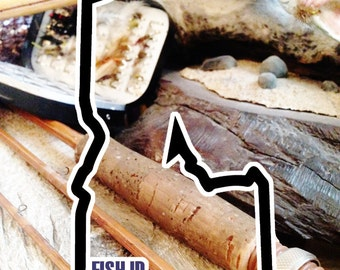 Fish Idaho Sticker - Idahook Series